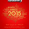 Meilleurs voeux pour la Nouvelle Année 2015 !